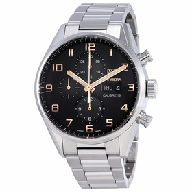 Tag Heuer CV2A1AB.BA0738 Carrera Mens Chronograph Automatic Watch