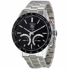 Tag Heuer CV7A12.BA0795 Carrera Mens Chronograph Auto-Quartz Watch