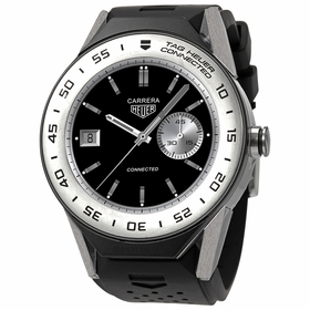 Tag Heuer SBF818001.11FT8031 Connected Modular Mens Chronograph Quartz Watch