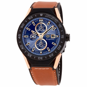 Tag Heuer SBF8A8023.32EB0103 Connected Modular 45 Kingsman Special Edition Mens Chronograph Quartz Watch