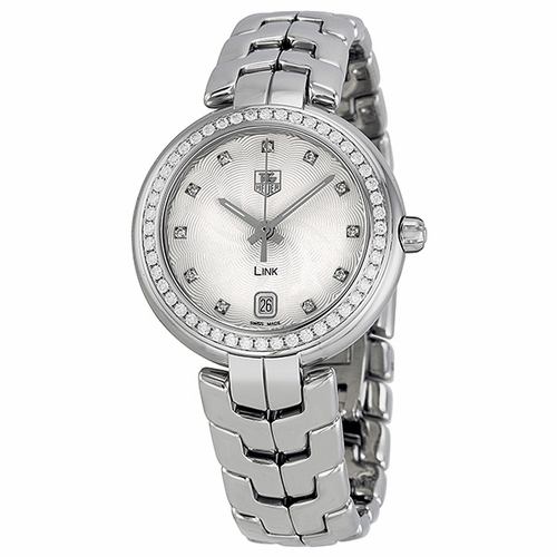 Tag Heuer WAT1316BA0956 Link Ladies Quartz Watch
