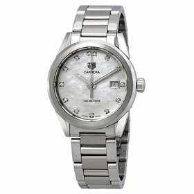 Tag Heuer WBG1312.BA0758 Carrera Ladies Quartz Watch