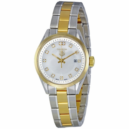 Tag Heuer WV1450.BD0797 Carrera Ladies Quartz Watch