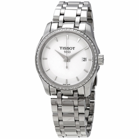Tissot T035.210.61.011.00 T-Trend Couturier Ladies Quartz Watch