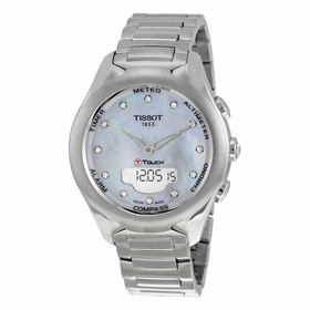 Tissot T075.220.11.106.00 T-Touch Expert Solar Ladies Chronograph Quartz Watch