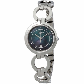 Tissot T094.210.11.126.00 Flamingo Ladies Quartz Watch