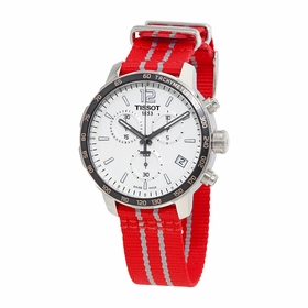 Tissot T095.417.17.037.12 Quickster Houston Rockets Special Edition Mens Chronograph Quartz Watch