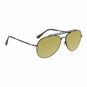 Tom Ford FT 0497 01N 58 Indiana Mens  Sunglasses