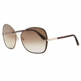 Tom Ford FT0319 28F Solange Ladies  Sunglasses