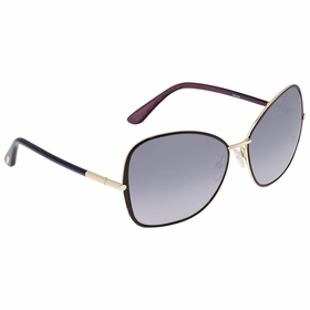 Tom Ford FT0319-32B Solange Ladies  Sunglasses