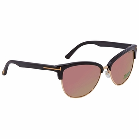 Tom Ford FT0368 01Z FANY Ladies  Sunglasses