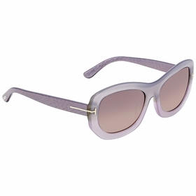 Tom Ford FT0382 80B Amy Ladies  Sunglasses