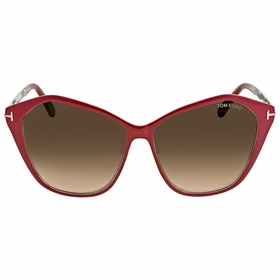 Tom Ford FT0391 69Z Lena Ladies  Sunglasses