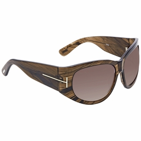 Tom Ford FT0404 50B Felicity Ladies  Sunglasses