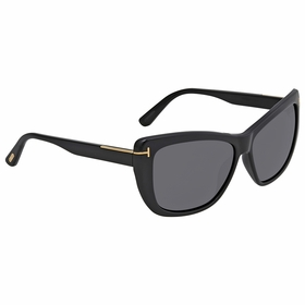Tom Ford FT0434 01D Lindsay Ladies  Sunglasses