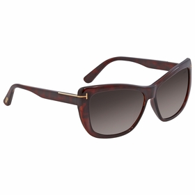 Tom Ford FT0434 52K LINDSAY Ladies  Sunglasses