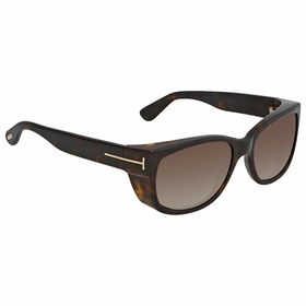 Tom Ford FT0441 52K Leo Ladies  Sunglasses