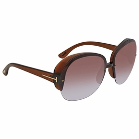 Tom Ford FT0458 48Z Marine Ladies  Sunglasses