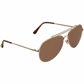 Tom Ford FT0497-28H-60 INDIANA Ladies  Sunglasses