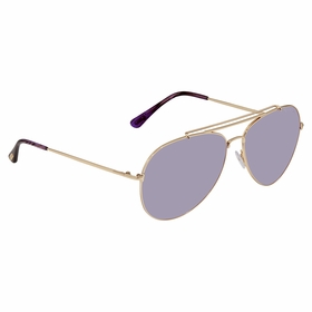 Tom Ford FT0497-28Y-60 Indiana Unisex  Sunglasses