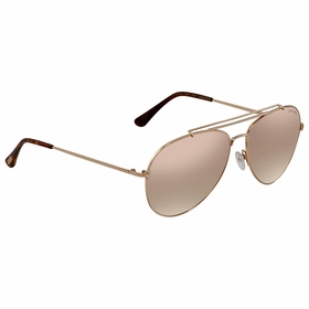 Tom Ford FT0497-28Z-58 INDIANA Ladies  Sunglasses