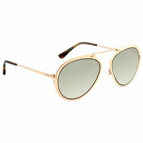 Tom Ford FT0508 28N 55 Dashel Unisex  Sunglasses