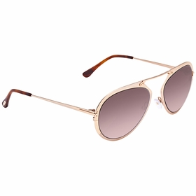 Tom Ford FT0508-28Z-55 DASHEL Mens  Sunglasses