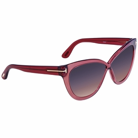 Tom Ford FT0511 69B Arabella Ladies  Sunglasses