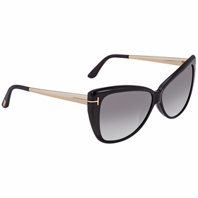 Tom Ford FT0512 01B Reveka Ladies  Sunglasses