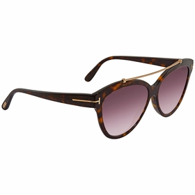 Tom Ford FT0518 52Z LIVIA Ladies  Sunglasses