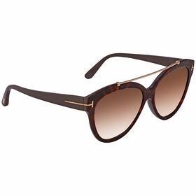 Tom Ford FT0518 53F FT0518 Ladies  Sunglasses