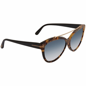 Tom Ford FT0518 56W LIVIA Ladies  Sunglasses