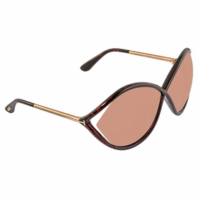 Tom Ford FT0528-52Z Liora Ladies  Sunglasses