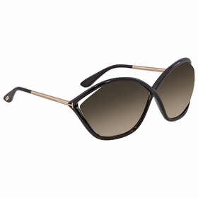 Tom Ford FT0529-01B BELLA Ladies  Sunglasses