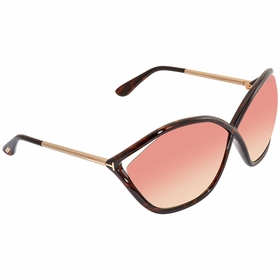 Tom Ford FT0529-52Z BELLA Ladies  Sunglasses