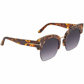 Tom Ford FT0552-56B Savannah Ladies  Sunglasses