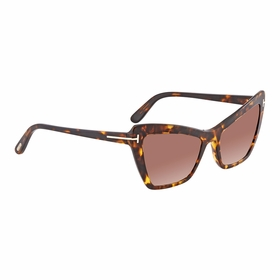Tom Ford FT0555 52F Valesca Ladies  Sunglasses