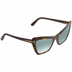 Tom Ford FT0555-52X VALESCA Ladies  Sunglasses