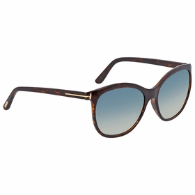 Tom Ford FT0568-52P Geraldine Ladies  Sunglasses
