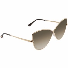 Tom Ford FT0569-28G ELISE Ladies  Sunglasses