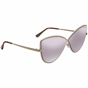 Tom Ford FT0569-28Z Elise Ladies  Sunglasses