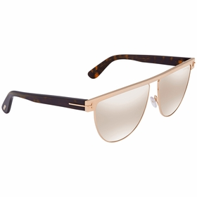 Tom Ford FT0570-28G Stephanie Ladies  Sunglasses