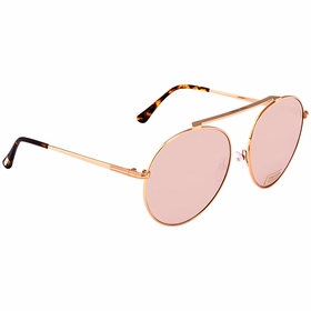 Tom Ford FT0571 28G Simone Ladies  Sunglasses
