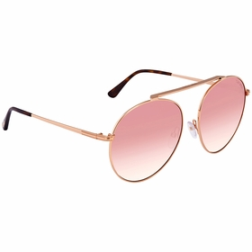 Tom Ford FT0571 28Z Simone Ladies  Sunglasses