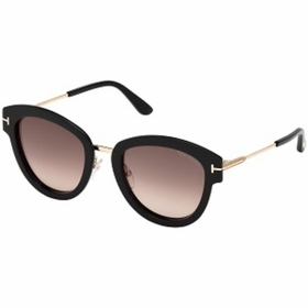 Tom Ford FT0574 01T 52  Ladies  Sunglasses