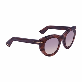 Tom Ford FT0583-55B Anna Ladies  Sunglasses