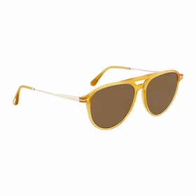 Tom Ford FT0587 39J 58 Carlo Unisex  Sunglasses