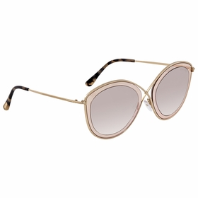 Tom Ford FT0604-47G SASCHA Ladies  Sunglasses