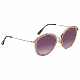 Tom Ford FT0604 77T FT0604 Ladies  Sunglasses