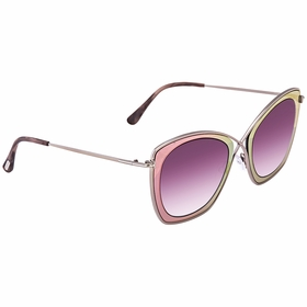 Tom Ford FT0605 77T FT0605 Ladies  Sunglasses